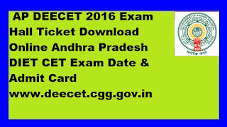 Andhra Pradesh DIECET Apply Online 2018: The Deportment of School Education of Government of Andhra Pradesh (DIECET) has invited the online application for the Diploma in Education (D.Ed.) two years course conducted by the Andhra Pradesh State Government. The DIECET Exam Is conducted annually. D.EL.ED Board has invited Application for the 2018-2020 D.Ed. Teachers Training Educations entrance test notification. Those young students who are choosing their carrier as a teacher this is the best way to prepare to choose has best option In this post we are giving of eligibility criteria, Syllabus, Exam Date, Admit Card Release Date, and Result.