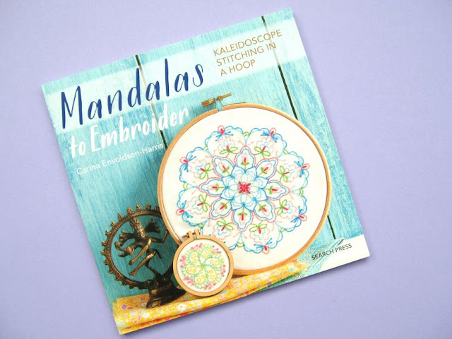 Book Review & Giveaway: Mandalas to Embroider