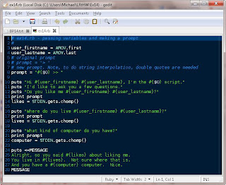 Testhead Exercise 14 Prompting And Passing Learn Ruby
