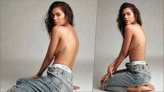 Esha-Gupta-Goes-Topless, Esha Gupta-Hot-Photo-Shoot-See-Pics, Esha-Gupta-Hot-Photo,