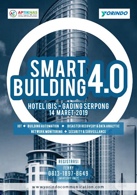 Kami hadir di APTIKNAS Seminar Smart Building 14 Maret 2019