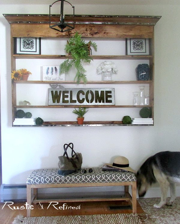 Decorating a small entryway or foyer