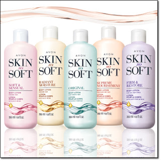 Avon Skin So Soft Body Lotions
