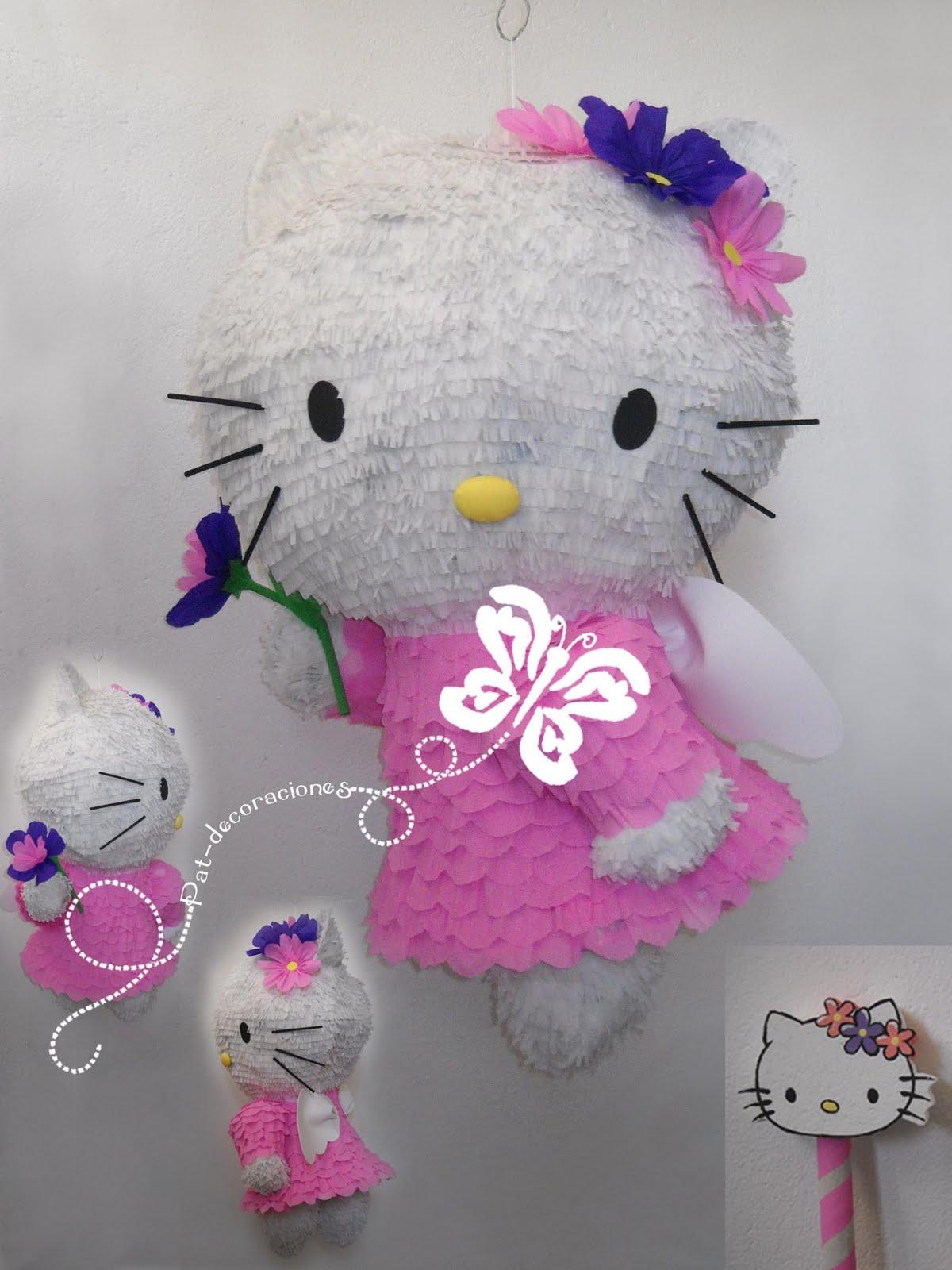 Pat decoraciones hello kitty - Decoracion hello kitty ...