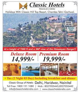 CLASSIC HOTELS NANITAL DELHI HARIDWAR