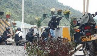 Markas Polsek Tembagapura Diserang KKB