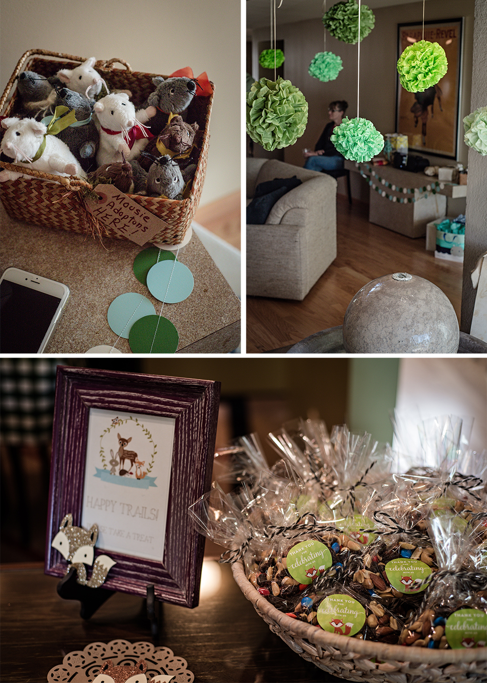 Woodland Themed Baby Shower - littleladylittlecity.com