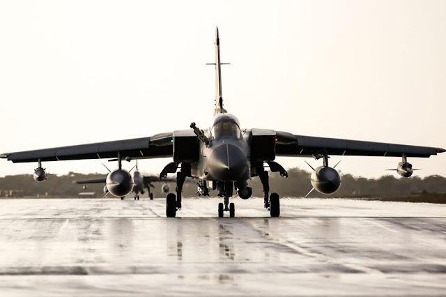 End RAF Tornado last operations