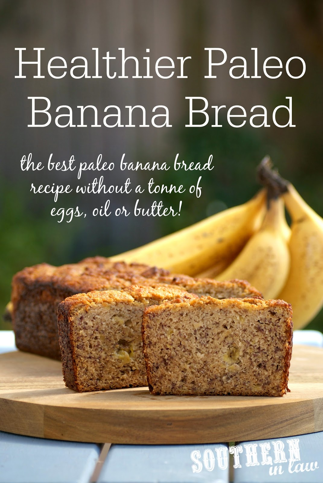 Healthy Paleo Banana Bread Recipe