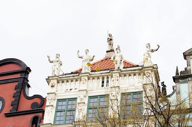Złota Kamienica, Gdańsk, Polska, Poland, architecture, white.