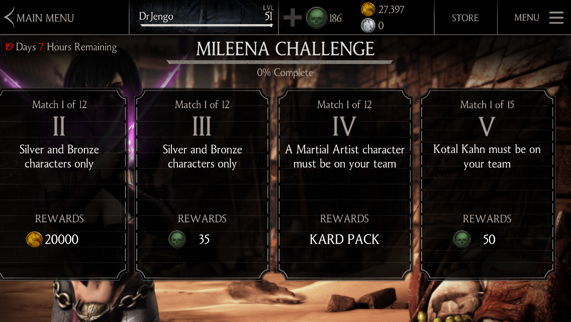 mileena mortal kombat xl ps4