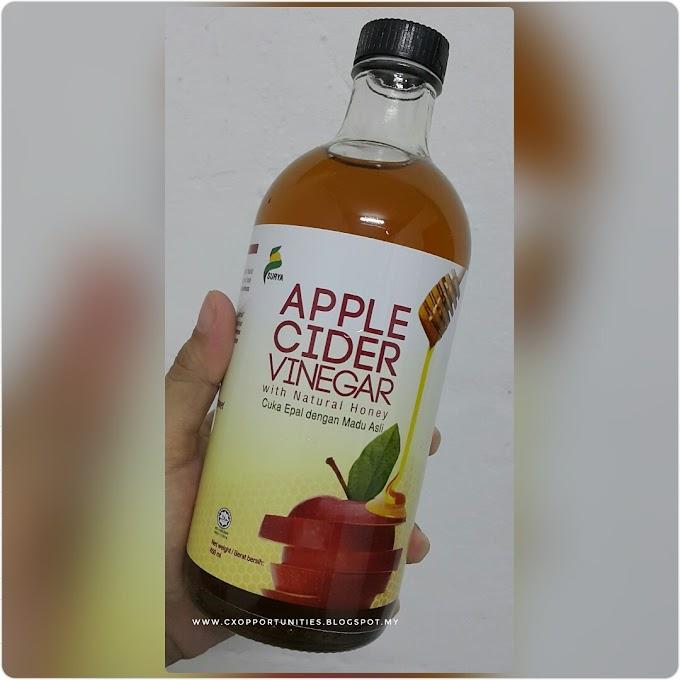 Apple Cider Vinegar (ACV) : Minuman Kesihatan