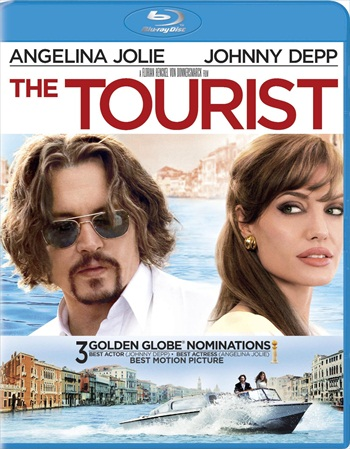 The Tourist 2010 Dual Audio Hindi 720p BluRay 800mb