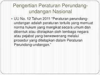 Jelaskan Pengertian Peraturan Perundang Undangan Nasional Indonesia Menurut Para Ahli