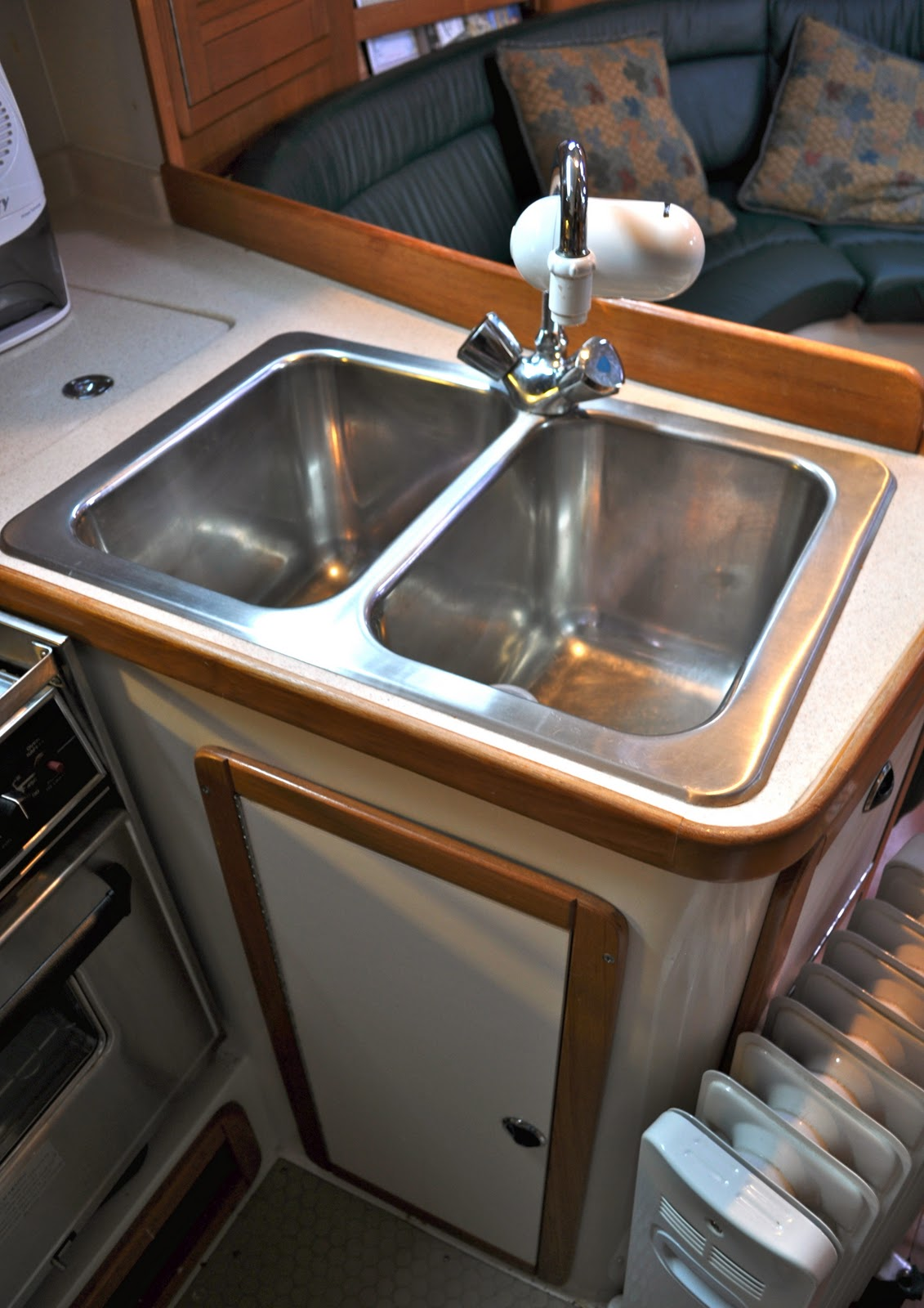 Catalina 42 Mkii For Sale Ma Alahi Tour Galley Kitchen