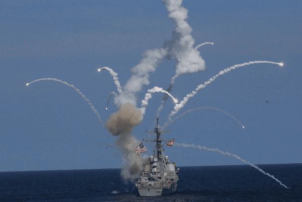 EEUU desplegó en el golfo Pérsico el destructor USS The Sullivans para atacar Siria