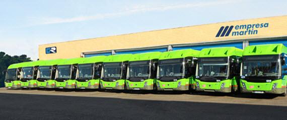 d0ce96f26a 10 nuevos autobuses a gas para la línea interurbana 484 entre Leganés y  Madrid