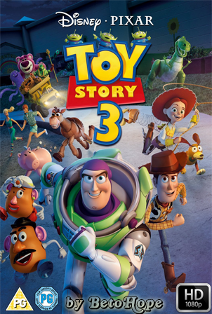 Toy Story 3 [2010] [Latino-Ingles] HD 1080P  [Google Drive] GloboTV