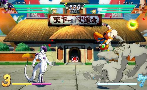 Imagens do jogo Dragon Ball FighterZ