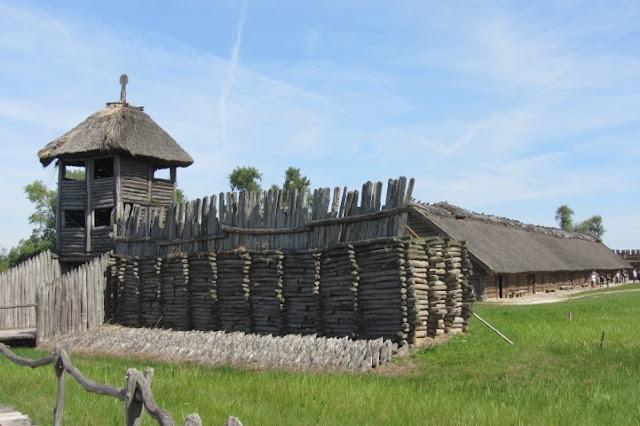Biskupin, Polen, prehistorische vindplaats