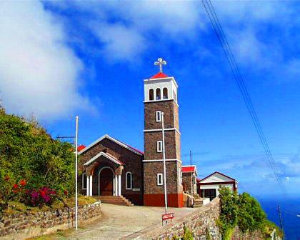 Eglise à Saba