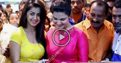 what happened to honey rose and nikki galrani during a inaguration  | Online malluz