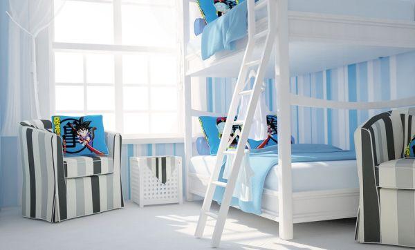 Kamar Tidur Laki-Laki Nuansa Biru
