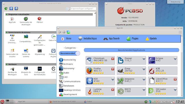 Desktop PC-BSD KDE