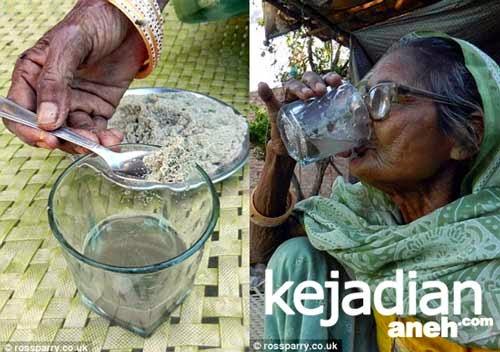 Nenek Makan Pasir Sehari 1 Kg Terbukti Tetap Sehat