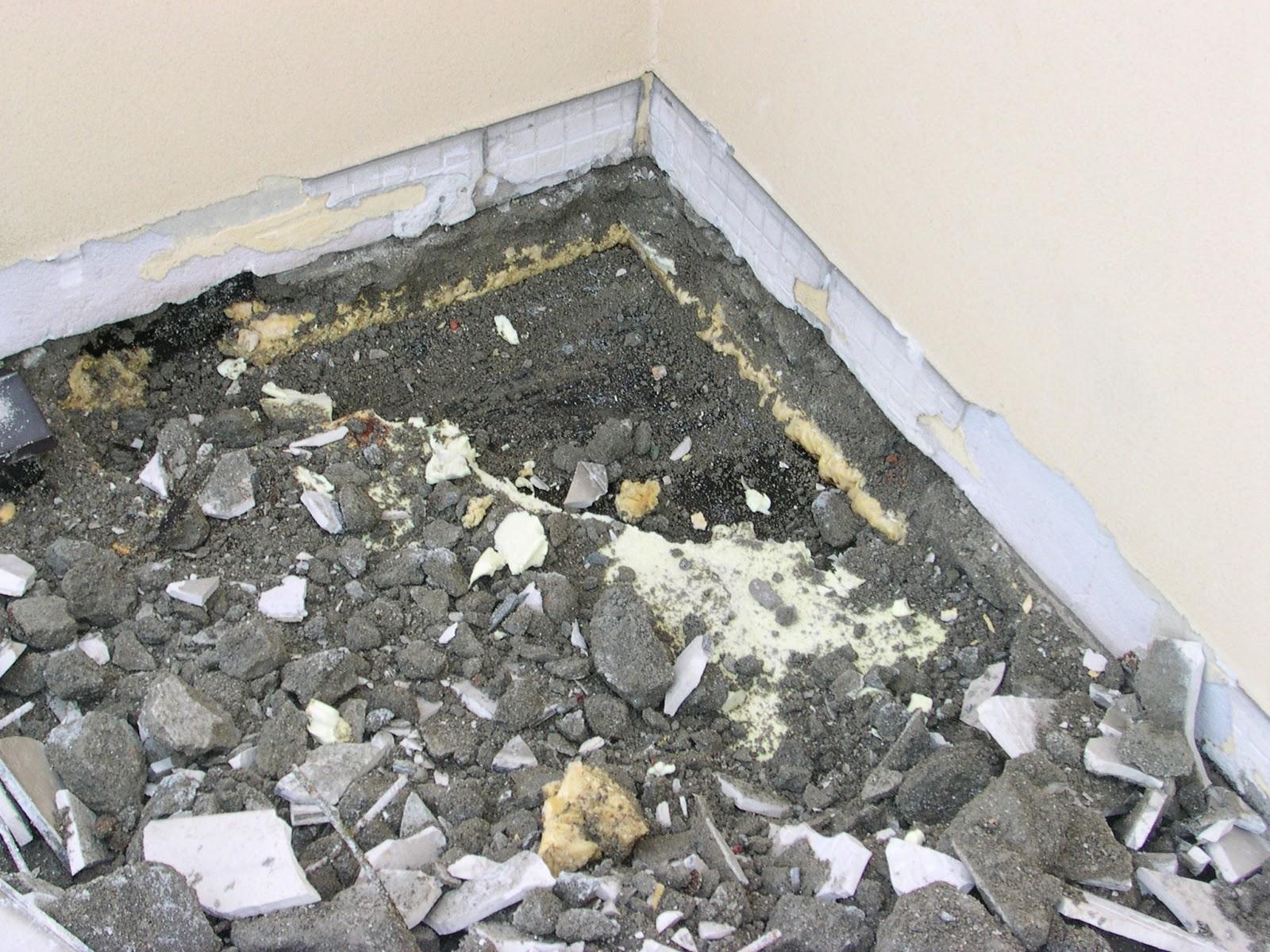 Il costruttore edile perdite d 39 acqua su terrazzi e balconi - Piastrellare un terrazzo ...
