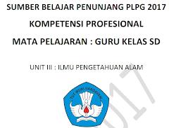 Modul PLPG 2017 Kompetensi Profesional Untuk Guru SD