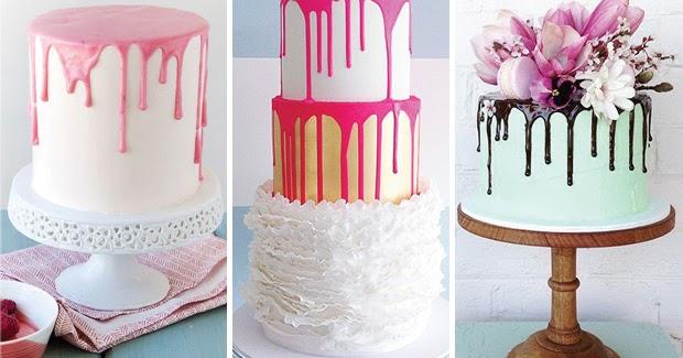 TENDÊNCIA: Aprenda a fazer um Drip Cake + 10 ideias de decoração