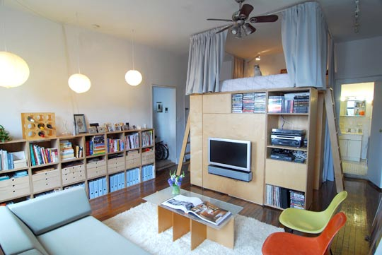 RamonaRode Home Studio Living Pt 1  Loft Beds