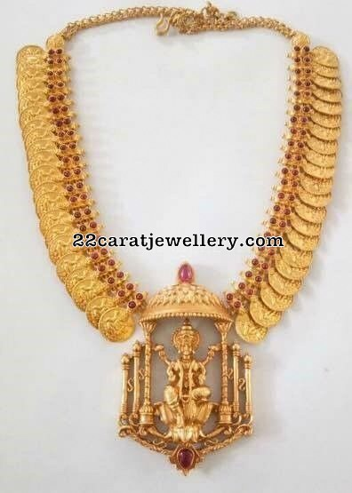 Kasu Mala with Krishna Pendant