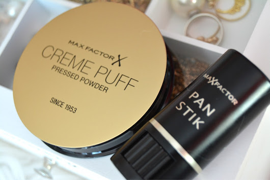 Angelina Beauty Blogger: Max Factor pudr Creme Puff & Panstik makeup a korektor v jednom