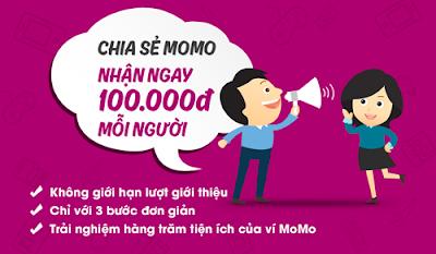 kiếm tiền online từ ví điện tử momo
