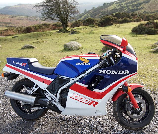 Honda VF1000R Specification