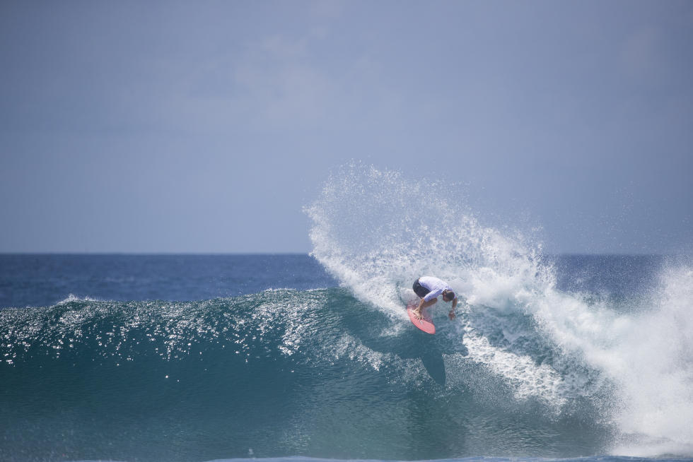 16 Travis Logie Four Seasons Maldives Surfing Champions Trophy foto WSL Sean Scott