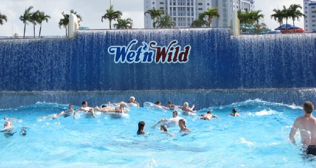 Parque Wet 'N Wild em Orlando
