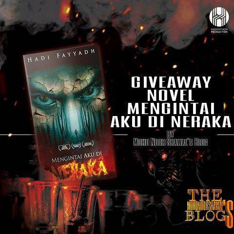 Giveaway Novel #MengintaiAkuDiNeraka