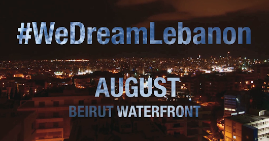 We Dream Lebanon 'promo' Roll-Out with Tom Clifford