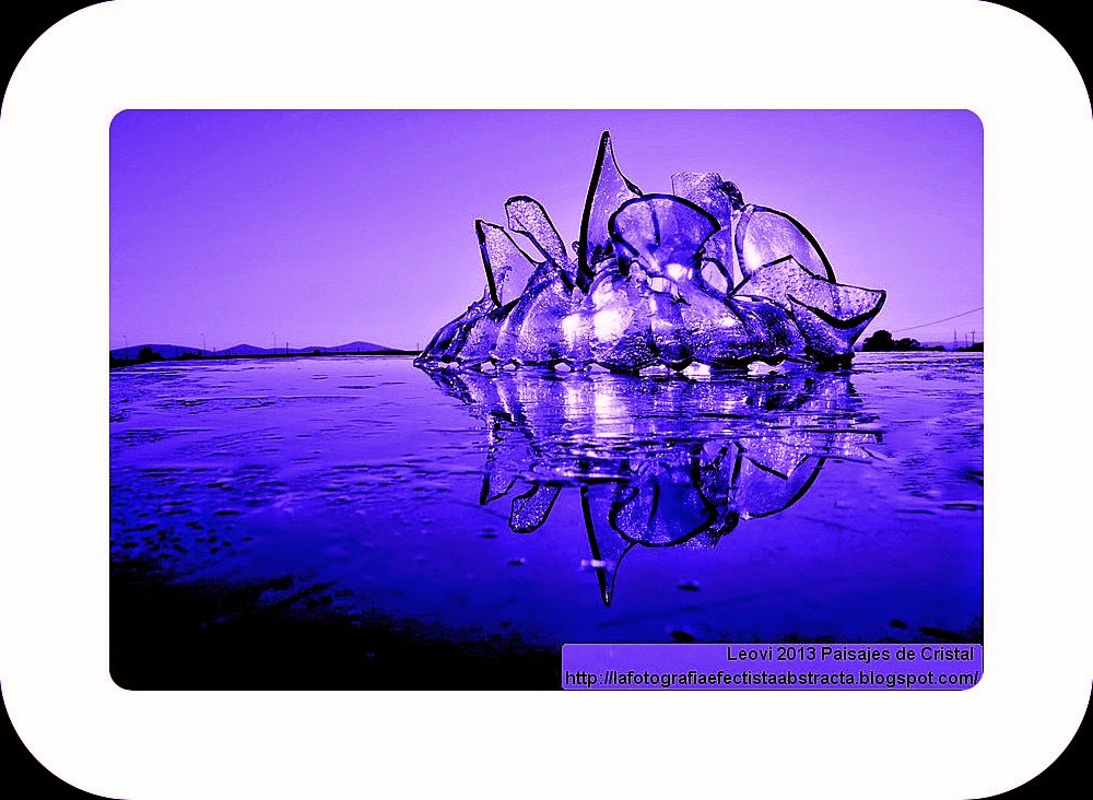 """Abstract Photo 3013 Crystal Landscape 140 A to Z 2014 """"O"""" Tribute to  """"Oomph!""""  The Power Of Love"""