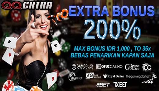 QQExtra Bandar Judi Casino Online Terlengkap di Indonesia
