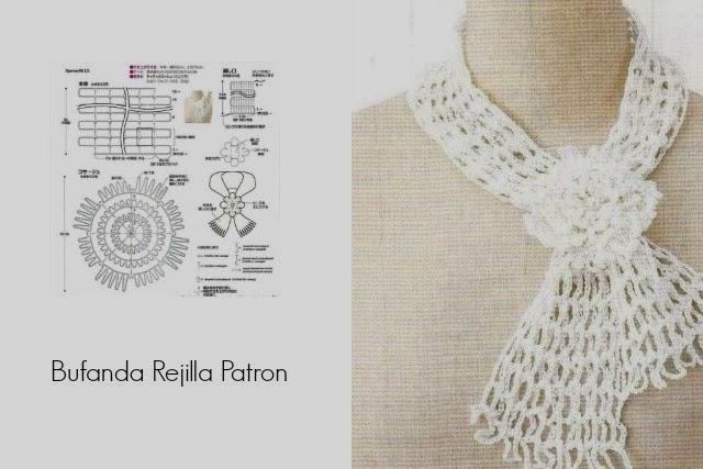 Bufanda Tejida Al Crochet Con Patrones — Sceneups