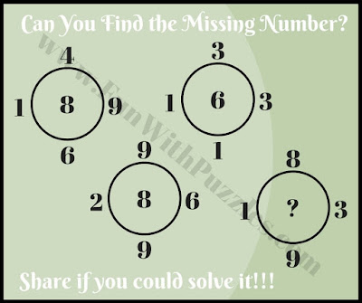 Mind bending maths brain picture puzzle challenge