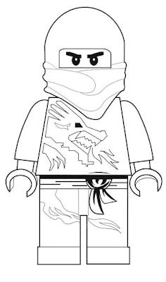 Gambar Mewarnai Lego - 3