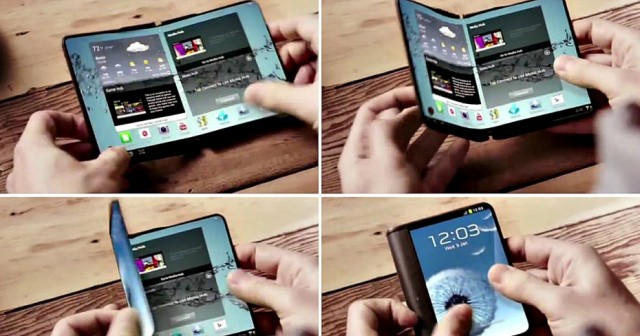 Samsung prepares foldable smartphone will go on sale next year