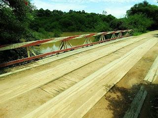 Ponte sobre o Arroio Ribeiro, em Barra do Ribeiro