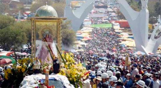 Un millón de personas irá de Santa Cruz a Quillacollo para la festividad de Urkupiña