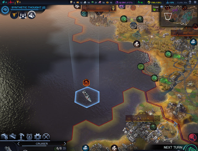 Civilization: Beyond Earth  | Cruiser Screenshot